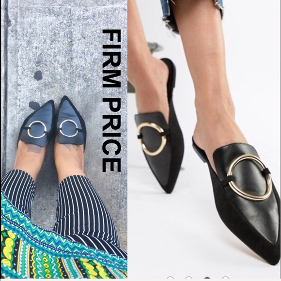 b112cd311ee37 ASOS Shoes | Sale Trendy Mule Slides | Poshmark